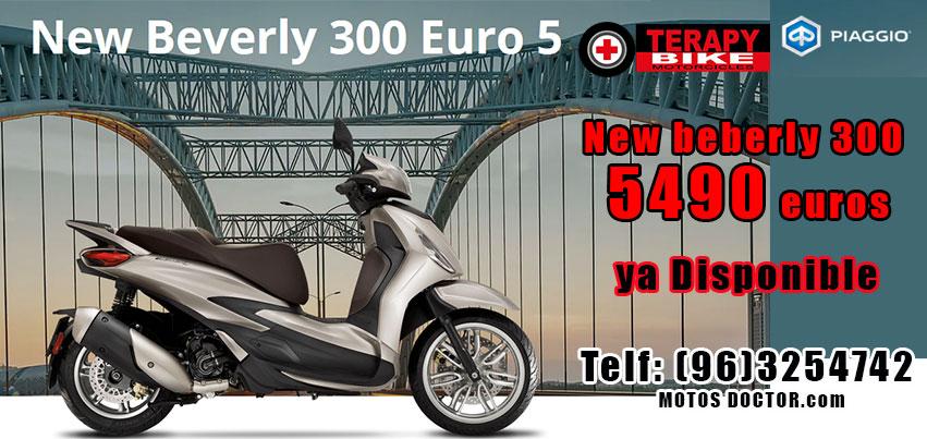Nuevo Piaggio Beverly 300